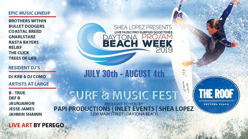 Daytona Beach Week At The Roof Daytona Beach Fl Jul 30