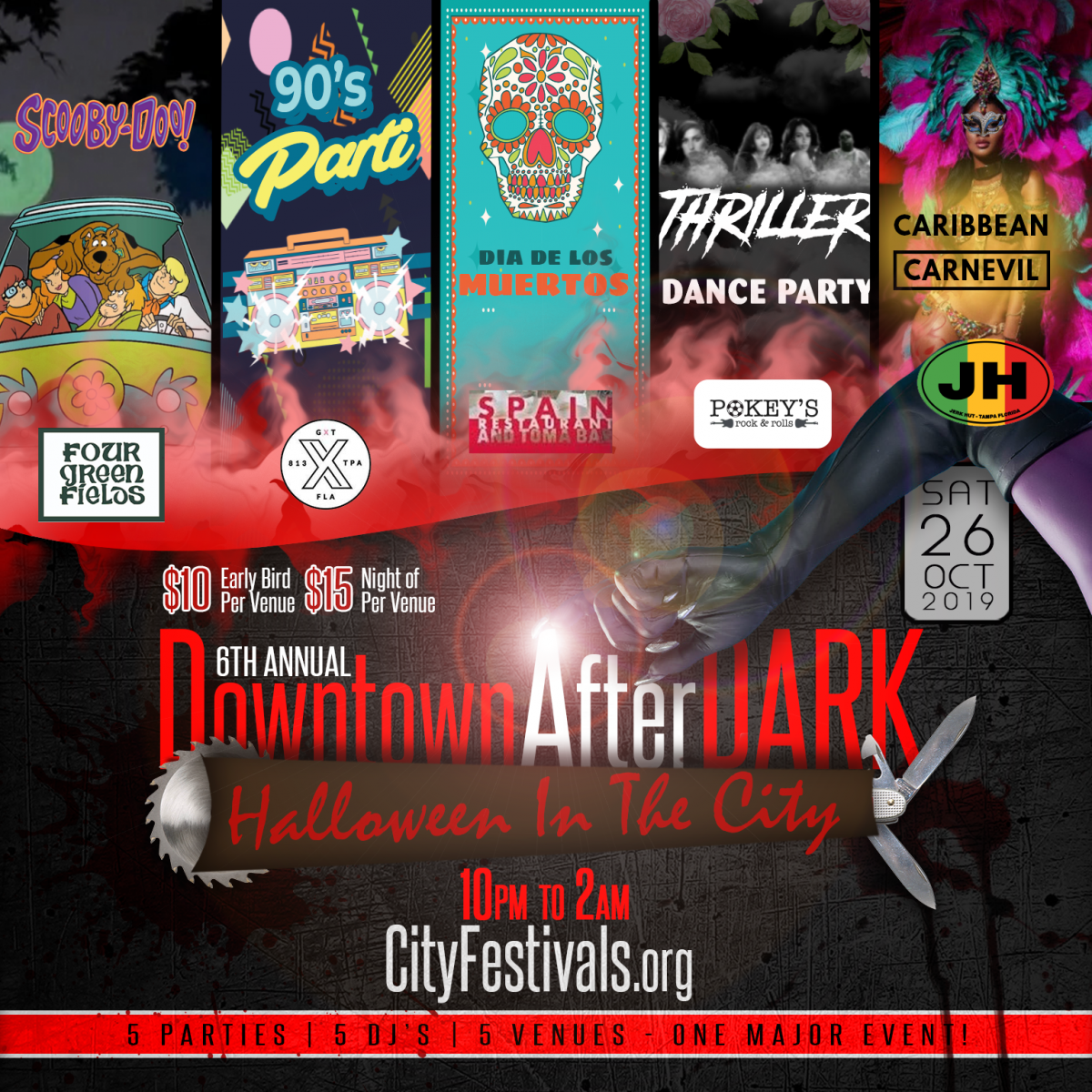 Downtown After Dark: Halloween In The City VI