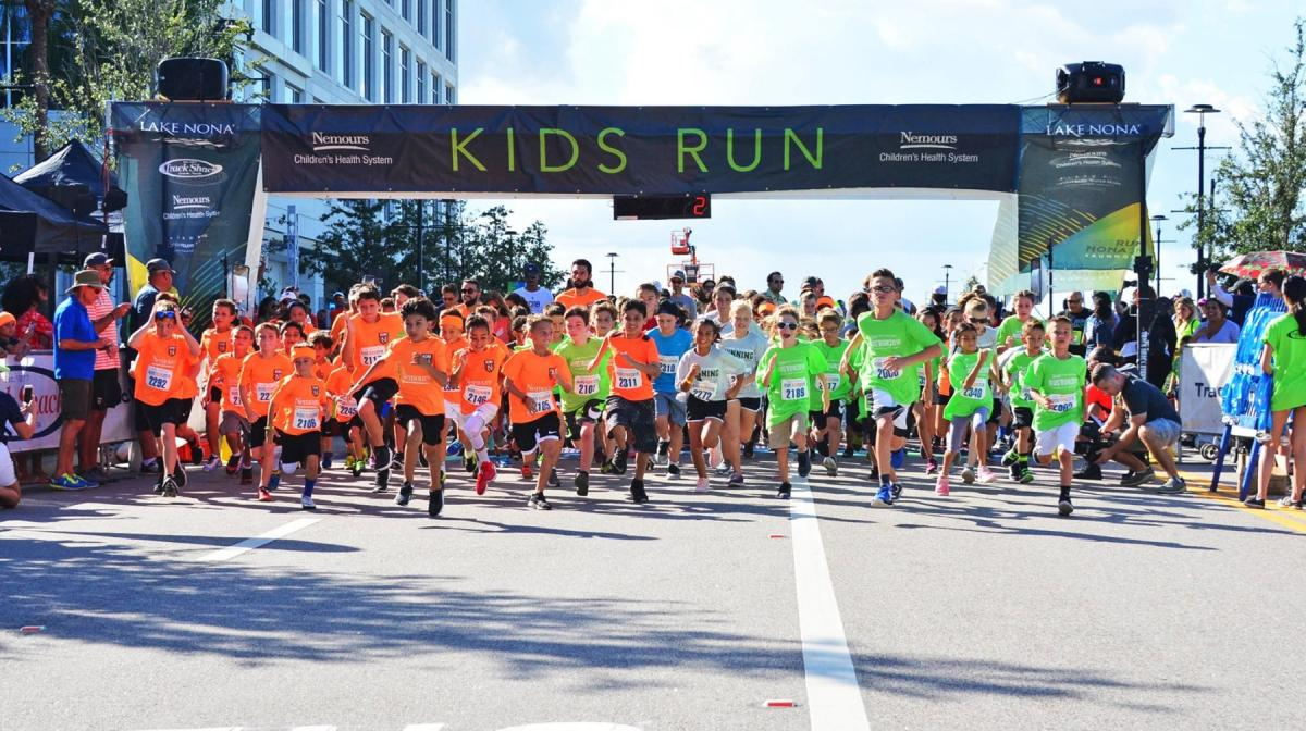 Run Nona 5k & Nemours Kids Run, Orlando FL - Sep 28, 2019