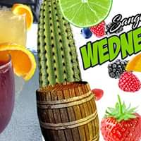 All You Can Drink Sangria Wednesdays at El Zocalo Mexican