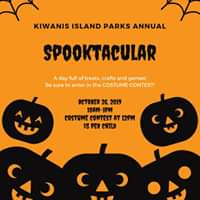 Annual Spooktacular at Kiwanis Island Park