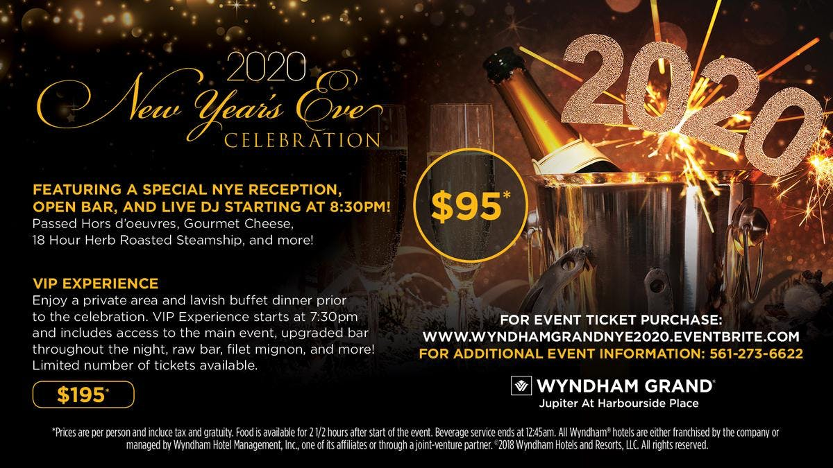 Miami New Years Eve 2020 Events.Miami New Years Eve 2020 Family New Years Eve West Palm