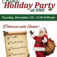 Kids Holiday Party at Unos