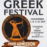 Greek Festival 2019 - OPA!