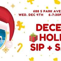 December Holiday Sip + Sample