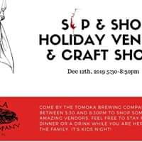 Sip & Shop Holiday Vendor & Crafts Show