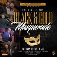 Black & Gold Masquerade Ball