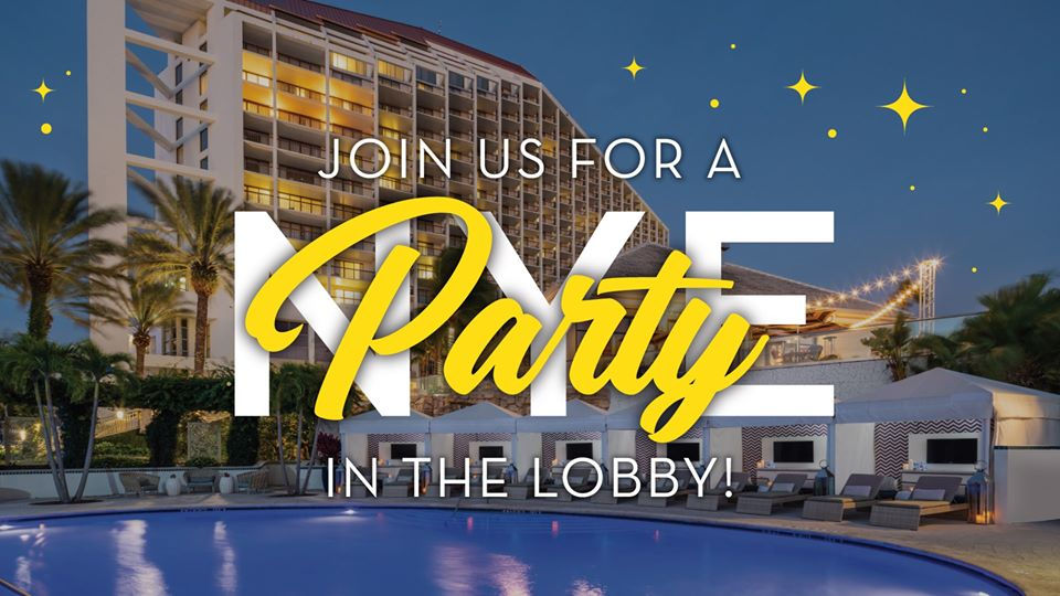 New Year's Eve Mantra Lobby Party, Fort Myers FL - Dec 31, 2019 - 4:00 PM
