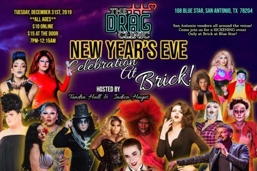 THE DRAG CLINIC: NEW YEAR'S EVE CELEBRATION AT BRICK!, San ...