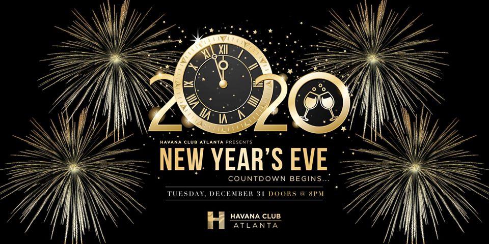 New Years Eve 2020, Atlanta GA - Dec 31, 2019 - 8:00 PM