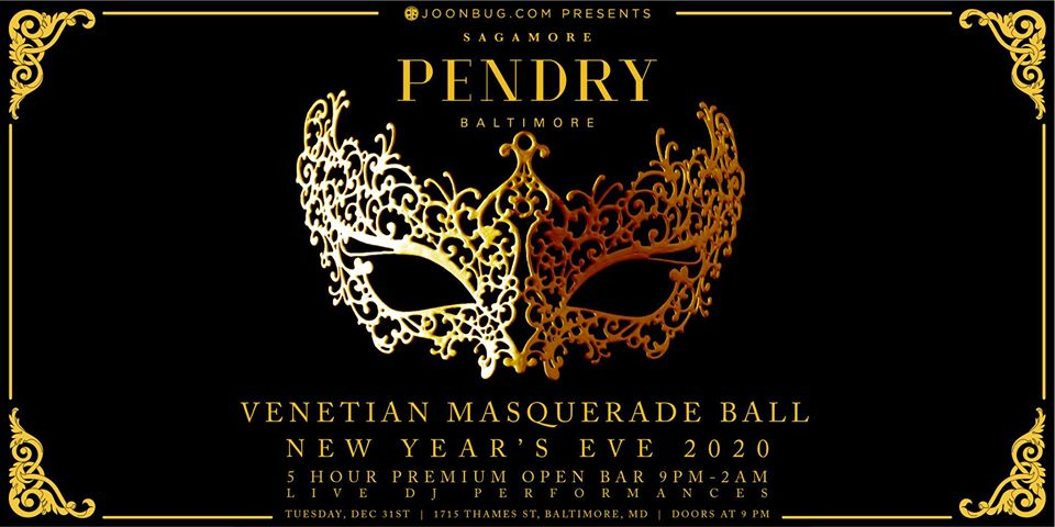 Sagamore Pendry Baltimore New Years Eve 2020 Party ...