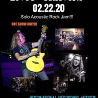 Annual Solo Acoustic Rock Show at the Iron Oak Post- Florida!