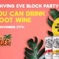 Unlimited White Claw + Barefoot Wine