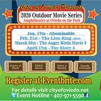 Movie in the Park (Starts at Dusk)
