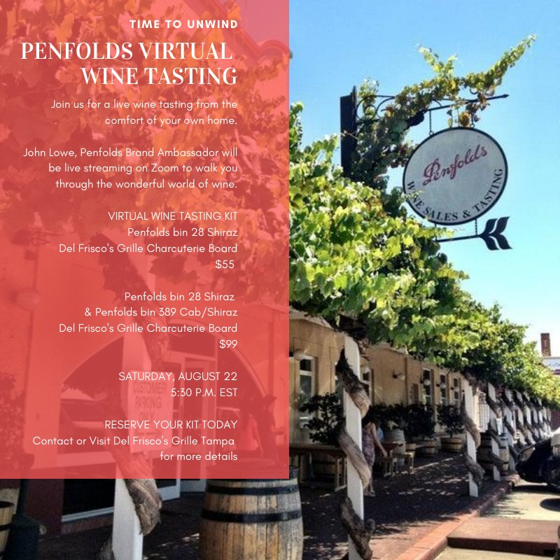 Penfolds Virtual Wine Testing