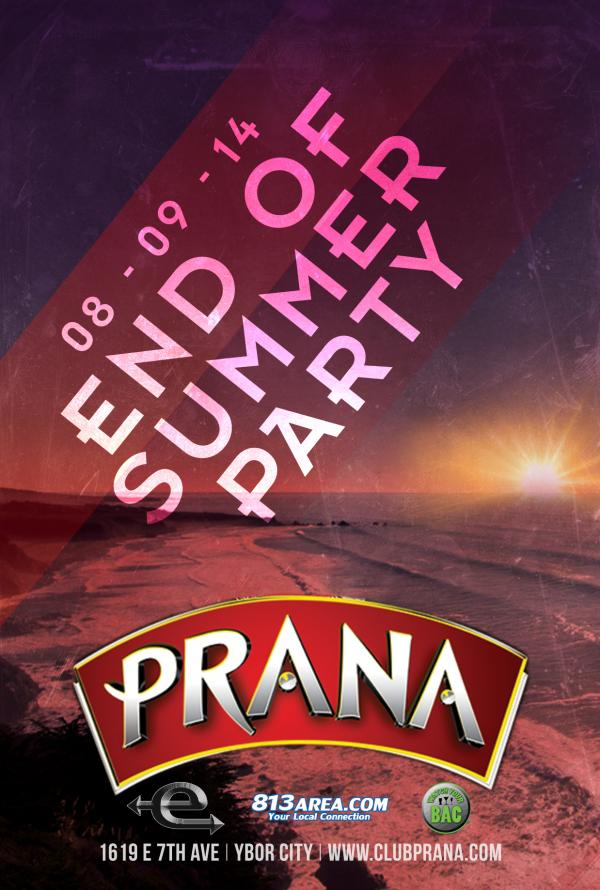 End of Summer Party at Club Prana