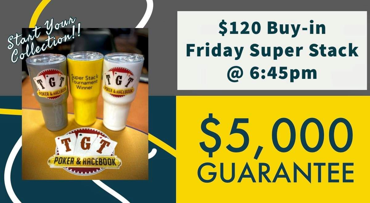 $5,000 Guarantee Poker Tournament at TGT Poker Room