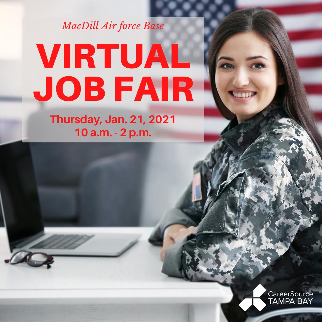 MacDill Air Force Base Virtual Job Fair