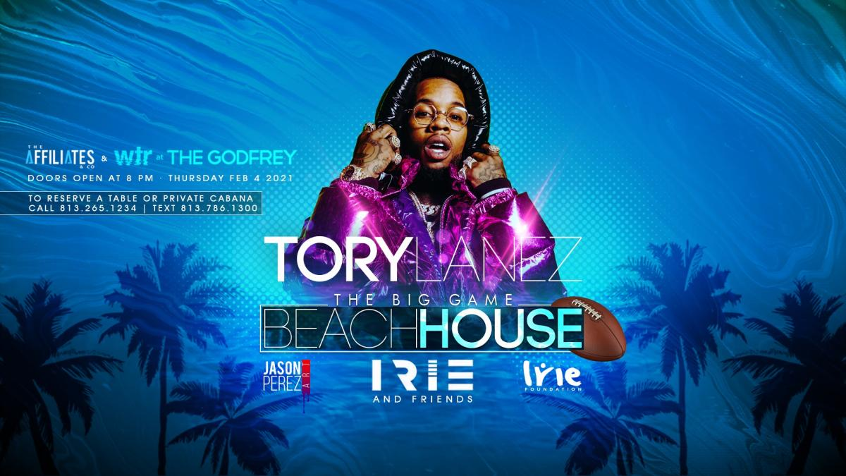 Irie, Tory Lanez & More at WTR Big Game Weekend Kick Off 2/4