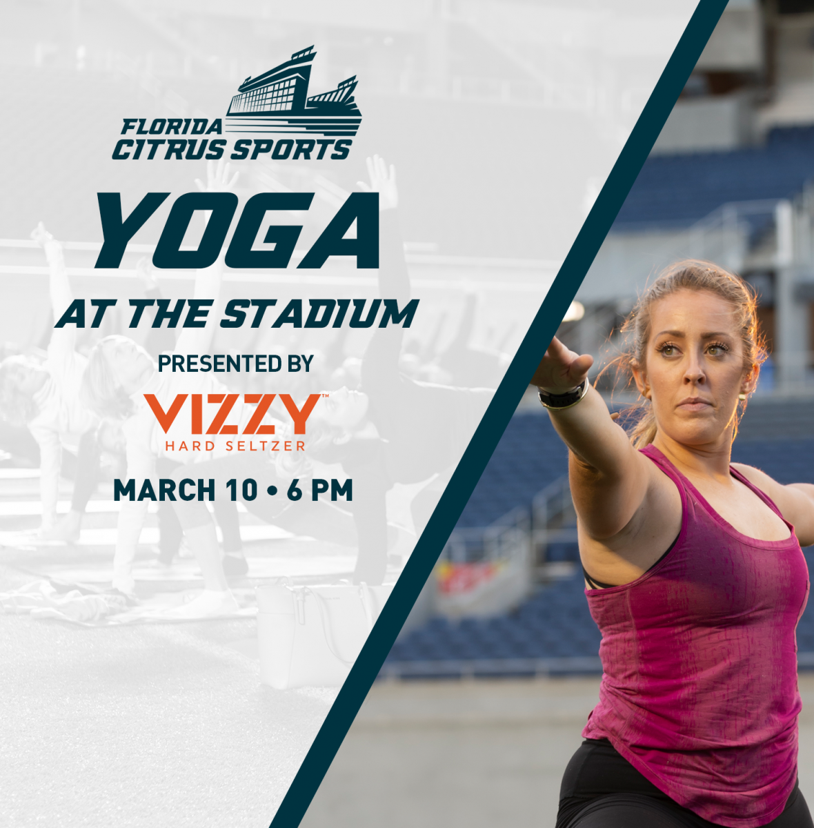 Yoga at the Stadium Presented by Vizzy