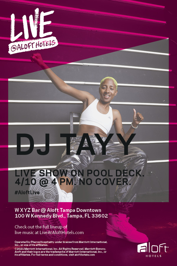 Live Music with DJ Tayy