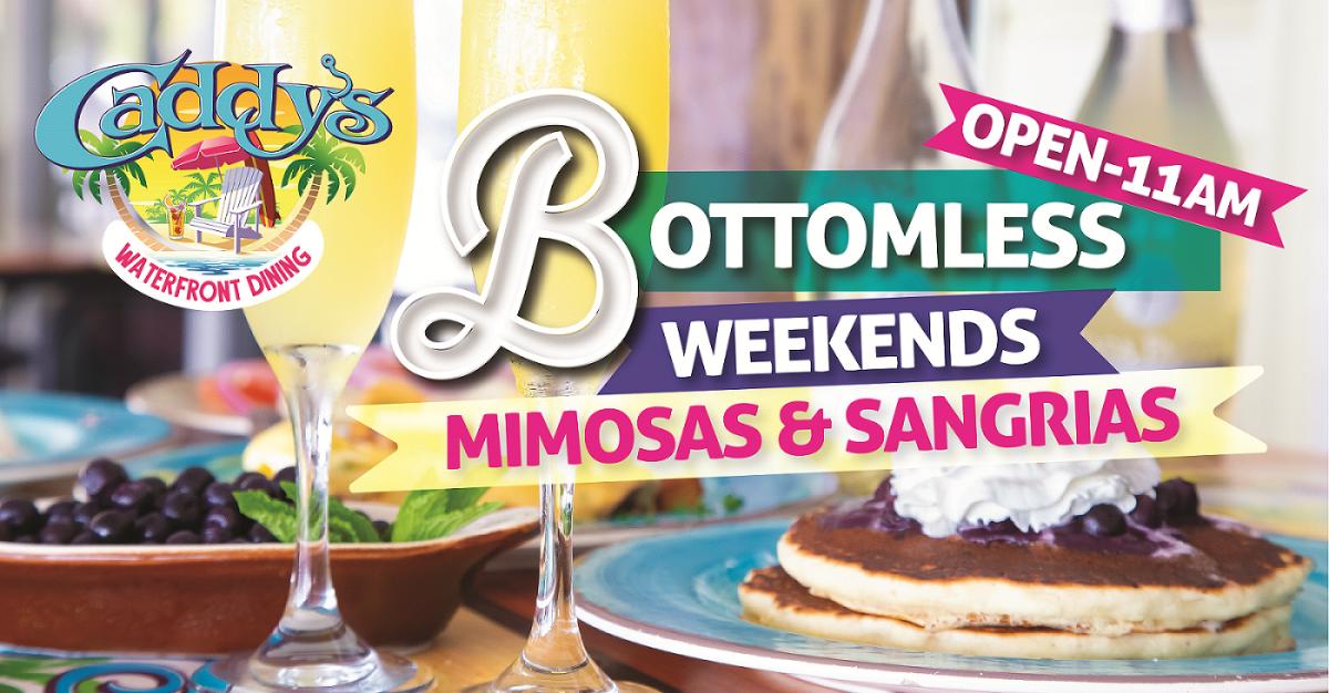 Bottomless Mimosas and Sangrias at Caddy's Bradenton