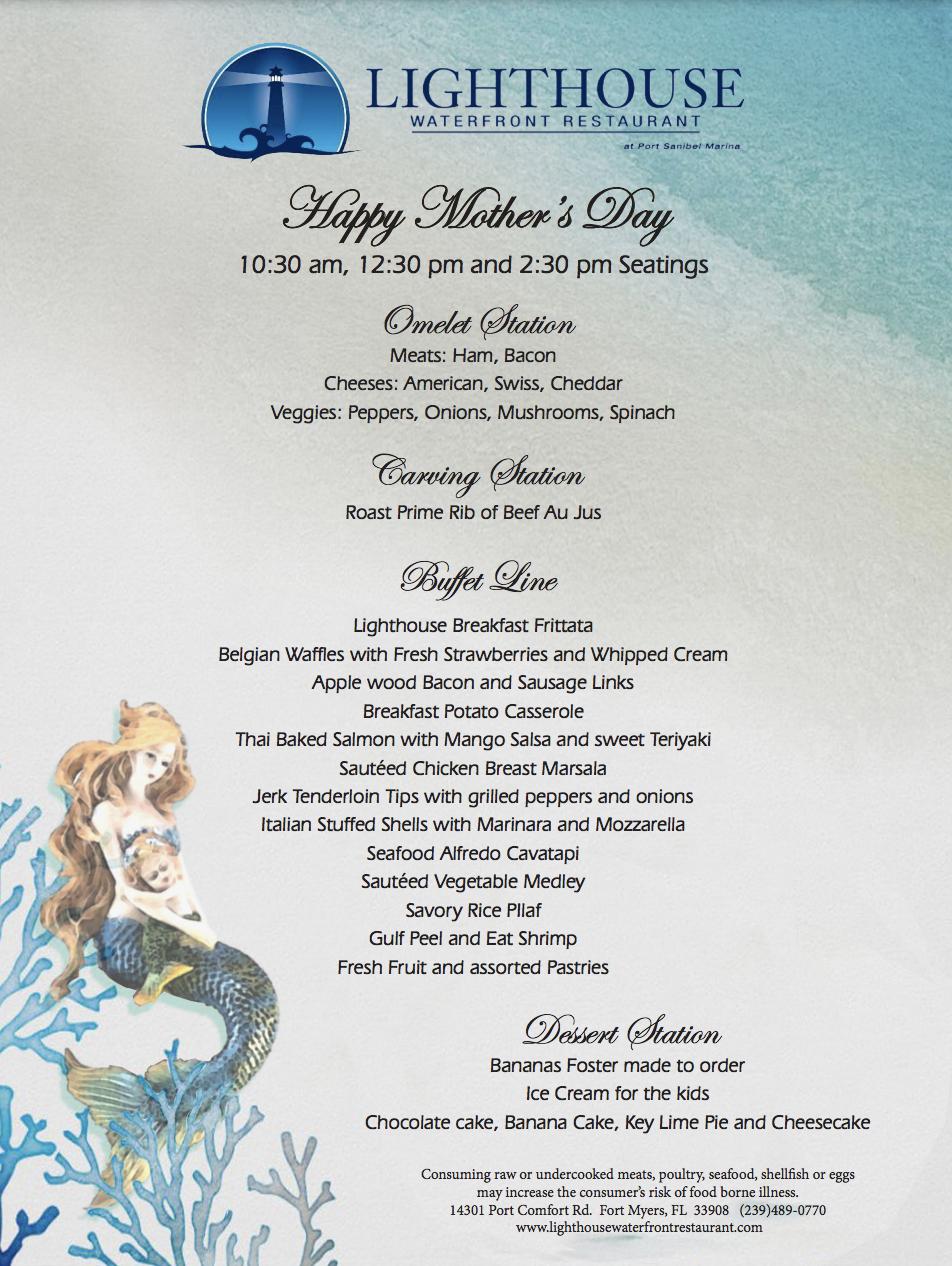 Lighthouse Mother's Day Brunch Buffet