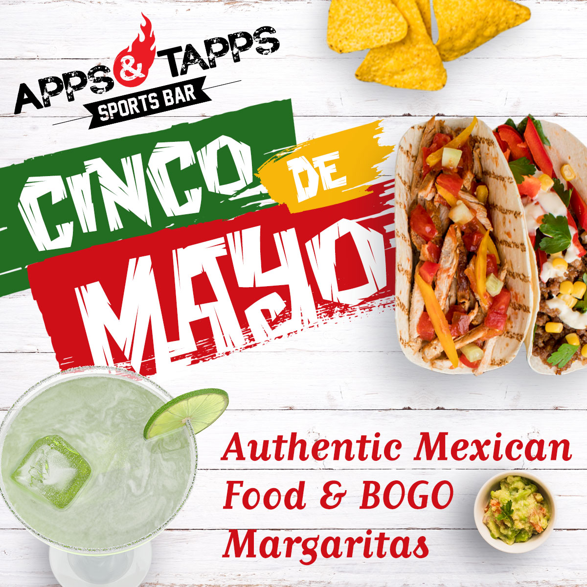 Cinco de Mayo at Apps & Tapps Trinity