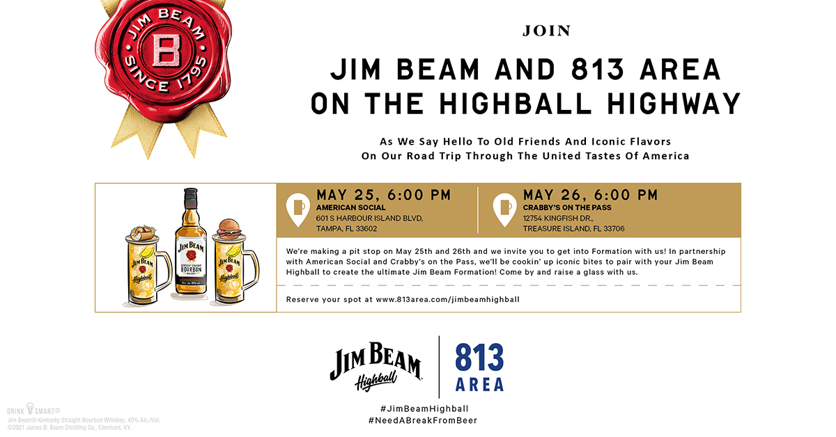 Highball Highway Presented by 813area and Sponsored by Jim Beam