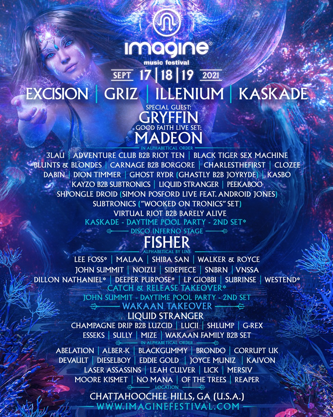 Imagine Music Festival 2021
