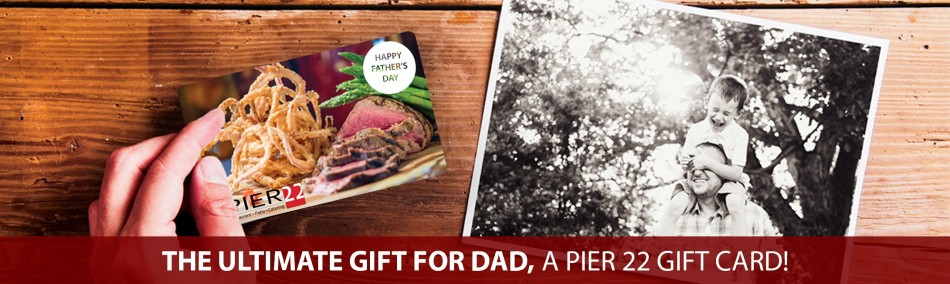 Award-Winning Father's Day Brunch AT PIER 22