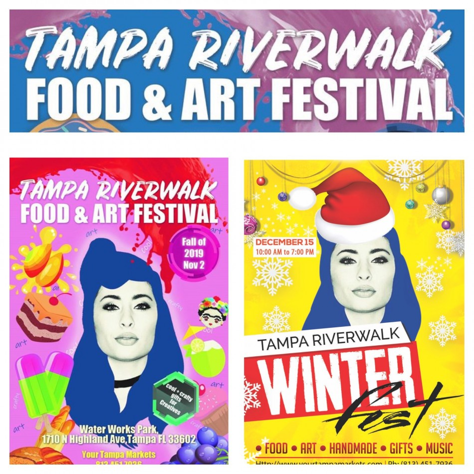 Tampa Riverwalk Food + Art Festival