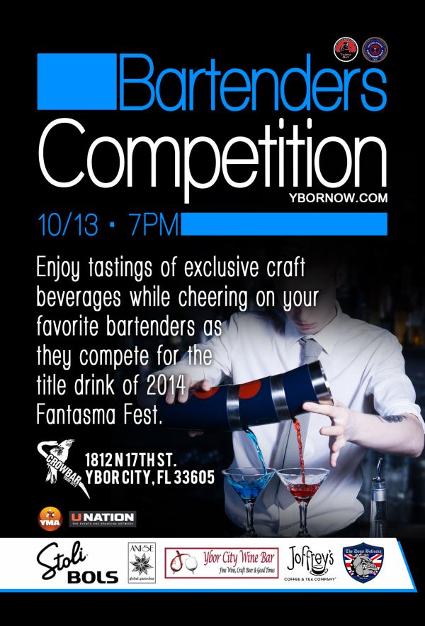 The restaurant monday at the tampa restaurant the restaurant and bar - Fantasma Fest Bartenders Competition Tampa Fl Oct 13