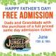 Father's Day at Sarasota Jungle Gardnes