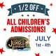 July 4th Sizzles with Half-off Kids' Admissions at Sarasota Jungle Gardens
