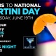 Cheers to National Martini Day 2019 : Blue Martini Las vegas