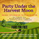 Party Under the Harvest Moon