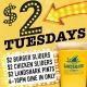$2 Tuesdays