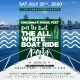 ROCK THE BOAT 2020 THE 4TH ANNUAL ALL WHITE BOAT RIDE DAY PARTY DURING THE CINCINNATI MUSIC FESTIVAL WEEKEND