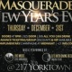 Masquerade New Year's Eve Party