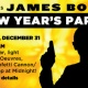 James Bond New Year's Eve Party At Enzian