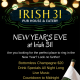 New Year's Eve at Irish 31