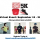 The Salvation Army of Broward County's Virtual Third Annual Kettle Krush 5K Sept