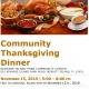 Kiwanis Island Park Thanksgiving Dinner