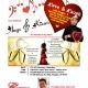AUGZ & KISSES Pre-Valentine's Day Prime Rib Buffet & Comedy Show