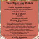 Valentine's Dinner at Cask