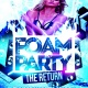 Foam & Black Light Party at Club Prana