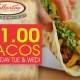 $1 Taco Tues & Wed | Vallarta's Mexican Rest.