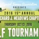 15th Annual Richard J. Meadows Chapter Golf Tournament