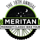 18th Annual Meritan Midnight Classic Bike Tour and Moonlight Tailgate